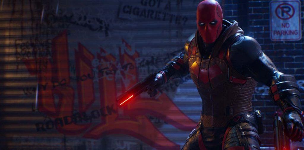Red Hood de Gotham Knights.