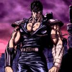Protagonista de 'Hokuto no Ken' posando en un mundo postapocaliptico.