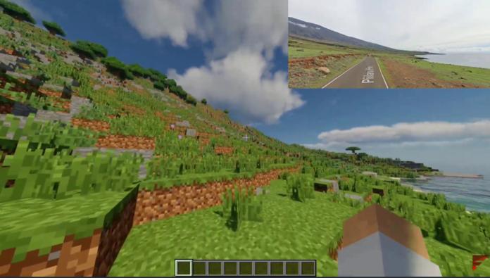 Mapa Minecraft.