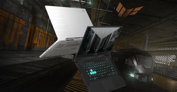 Laptop TUF de ASUS.