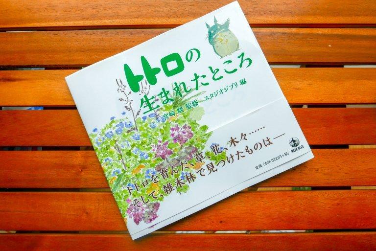 Fotografía de la portada del libre de Akemi Ota sobre una mesa de madera.