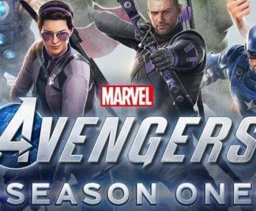 Marvel's Avengers portada.