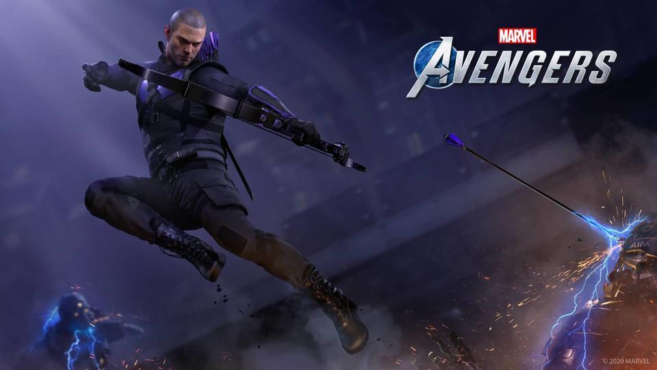 Clint Barton en Marvel's Avengers.