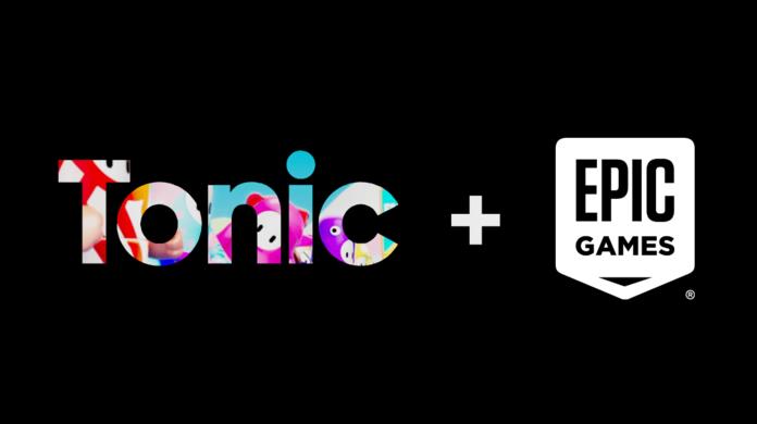 Logo de unión entre Epic y Mediatonic.