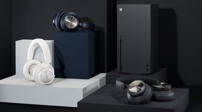 Xbox Series X y Beoplay Portal.