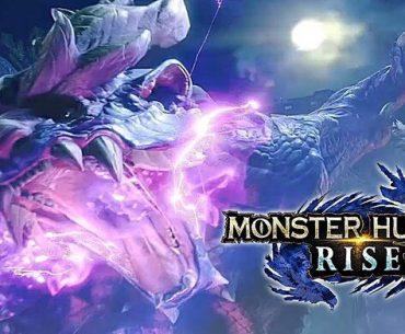 Poster de Monster Hunter: Rise.