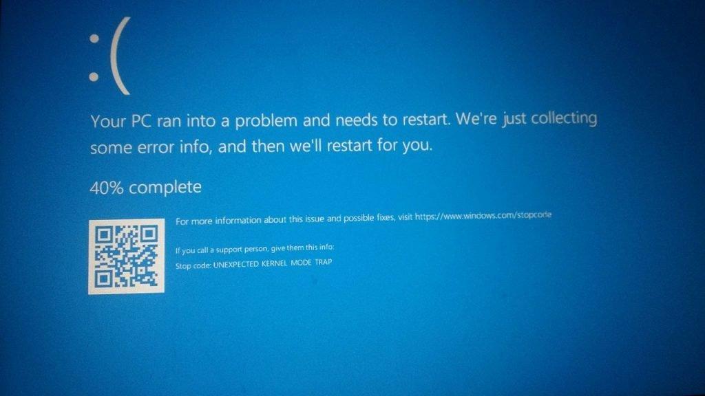 Error de Windows.