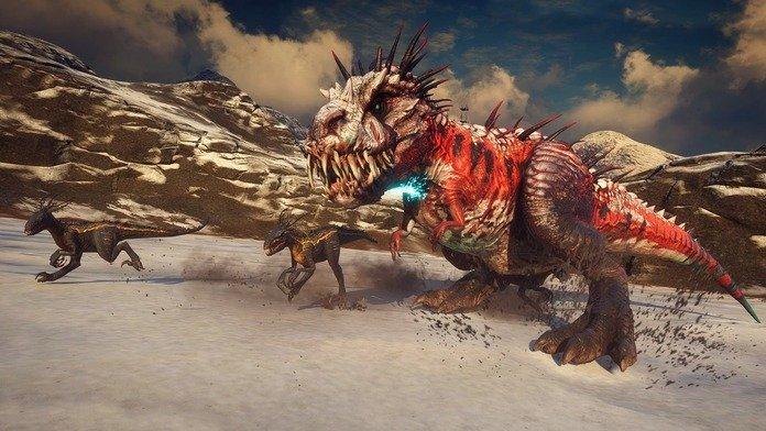 T-Rex de Second Extinction.