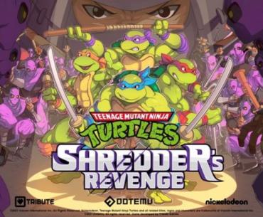 Portada de TMNT Shredder's Revenge.