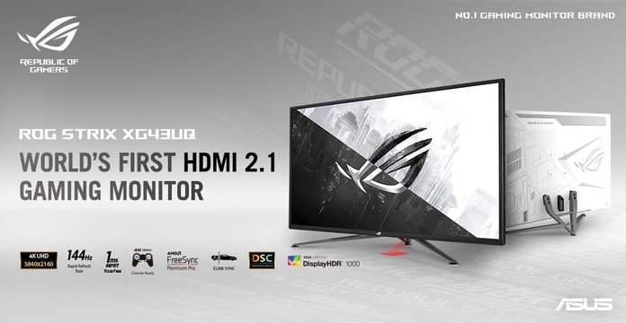 Eve y Asus compiten por lanzar el primer monitor gamer 4K con 144Hz