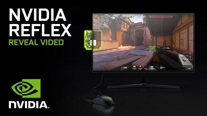 Publicidad de Nvidia Reflex