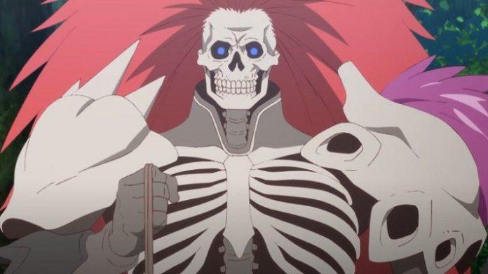 Imagen tomada del tráiler de 'Saihate no Paladin' con un primer plano de uno de los protagonistas.