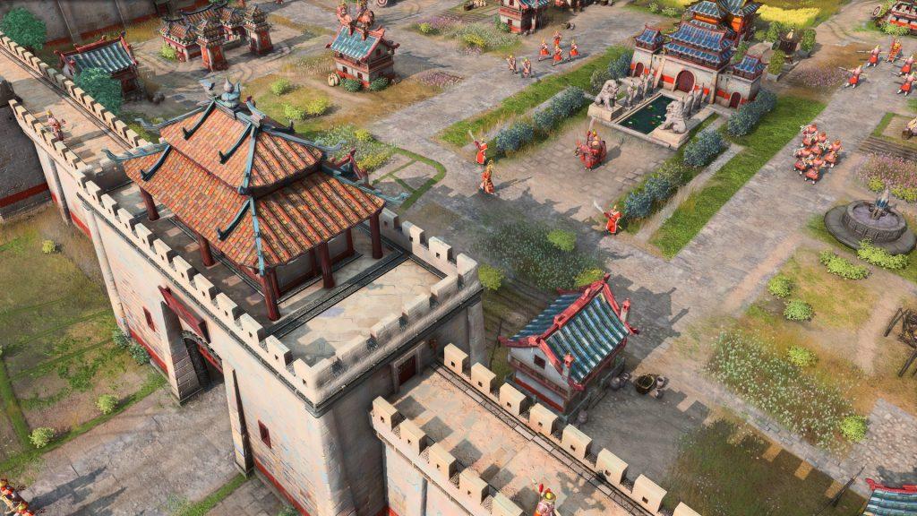 Jugabilidad de Age of Empires 4.