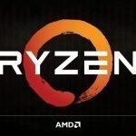 Logo de AMD Ryzen.