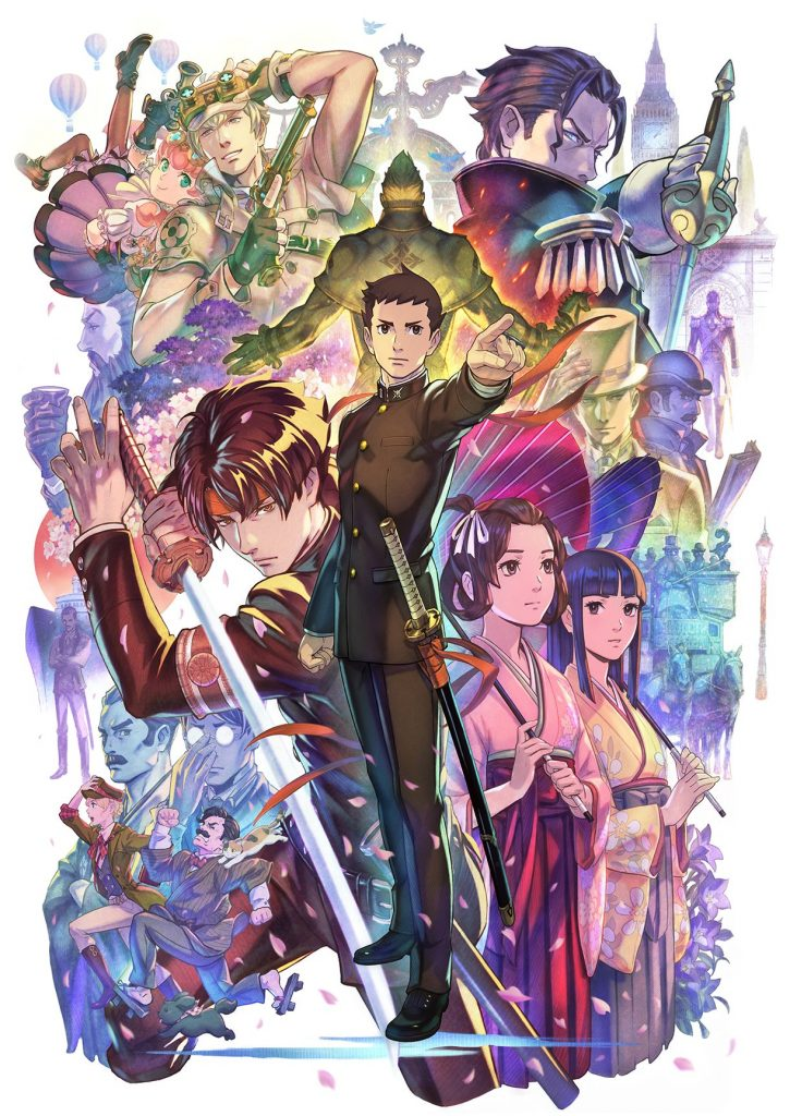 Arte oficial de The Great Ace Attorney: Chronicles.