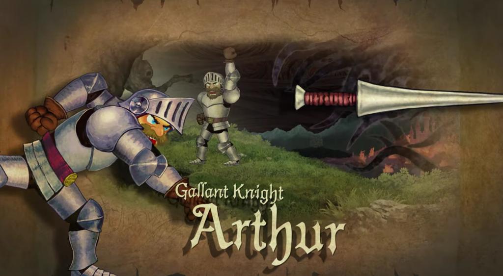 Arthur de Ghosts 'n Goblins.