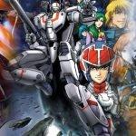 Imagen promocional de Robotech con todos los protagonistas en poses épicas.