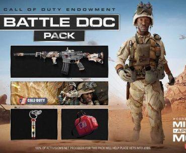 Promoción de Call of Duty: Warzone.