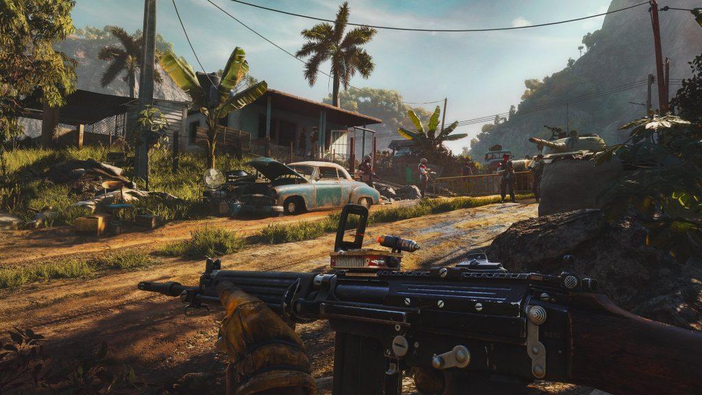 Imagen de jugabilidad de Far Cry 6.