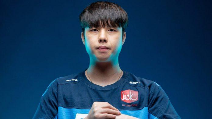 """Imagen de Lee """"Fearless"""" Eui-seok, jugador de Dallas Fuel en la Overwatch League"""