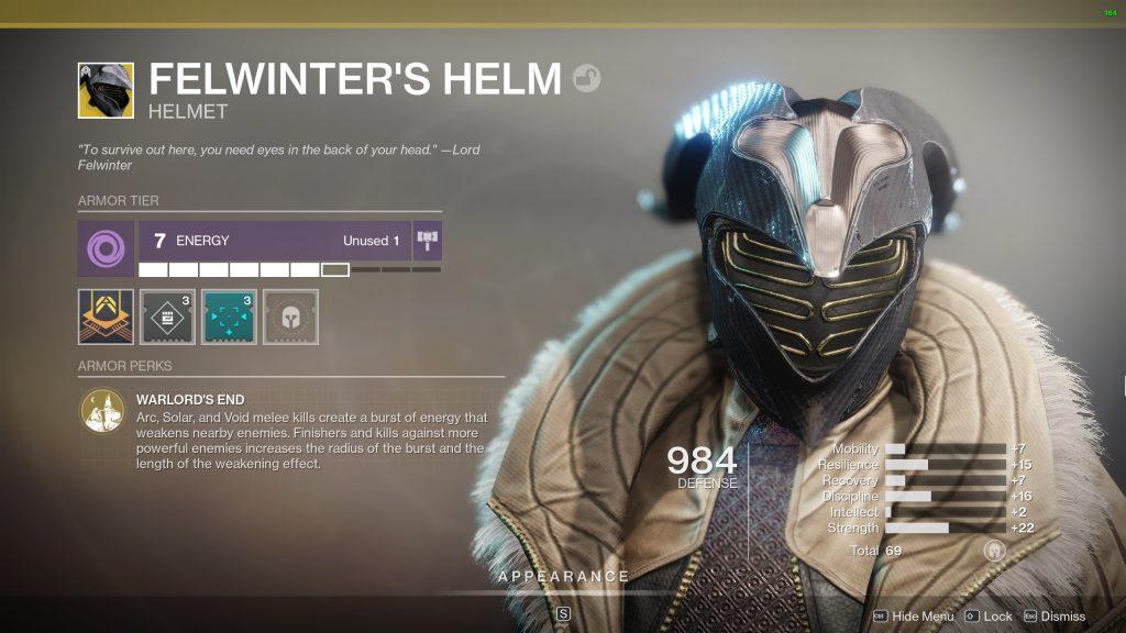 Felwinter's Helm.