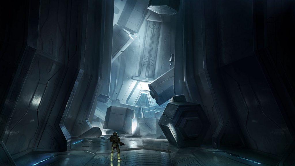Arte de Halo.