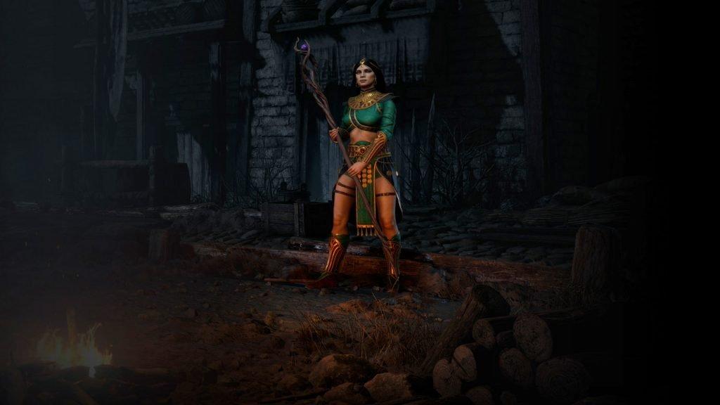 Hechicera de Diablo II.