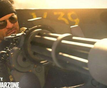 Minigun de Call of Duty.