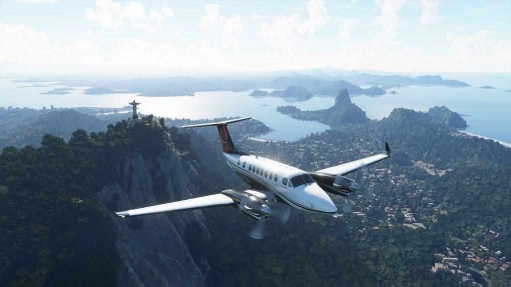 Jugabilidad de MIcrosoft Flight Simulator.