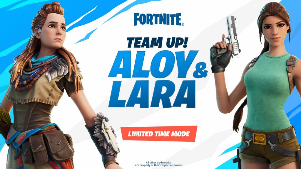 Modo de juego limitado de Lara y Aloy.