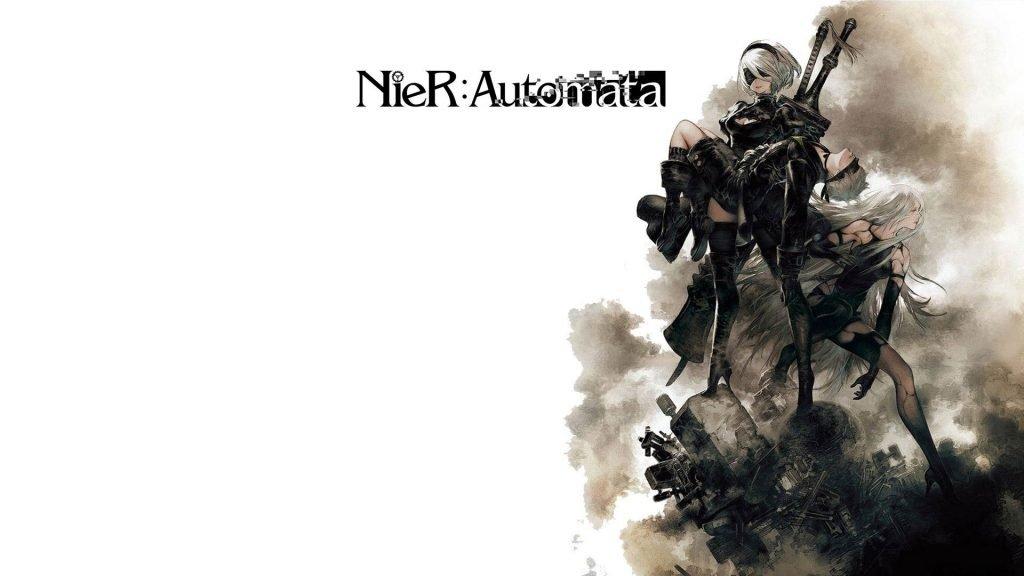 Arte de NieR: Automata.