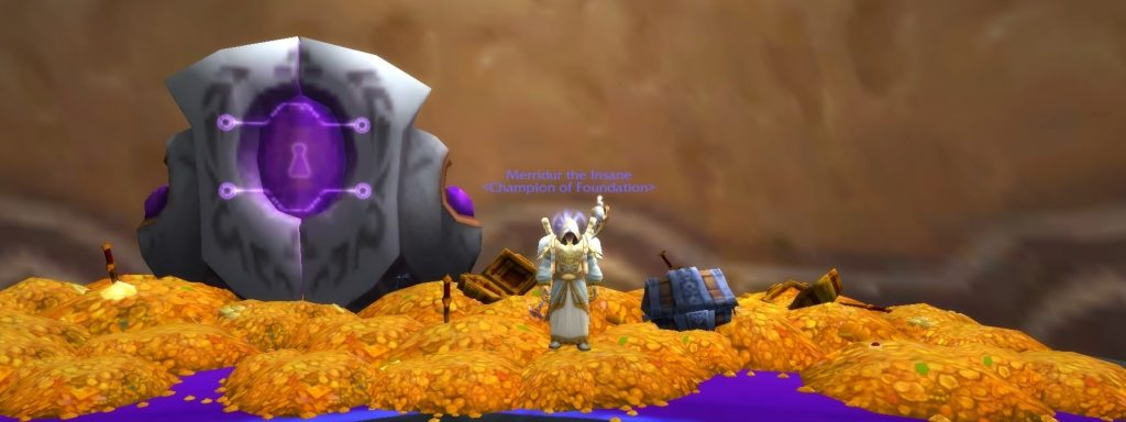 Oro de World of Warcraft.