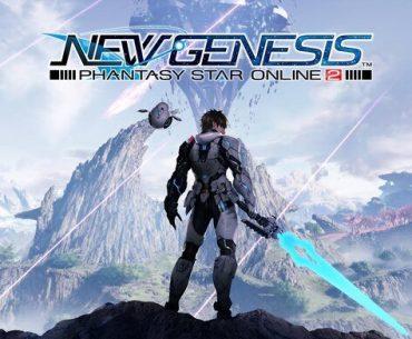 Portada de Phantasy Star Online 2: New Genesis.