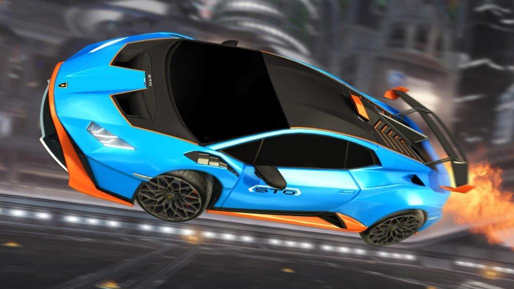 Lamborghini STO de Rocket League.