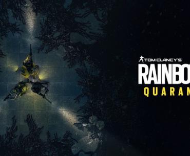 Arte de Rainbow Six Parasite.