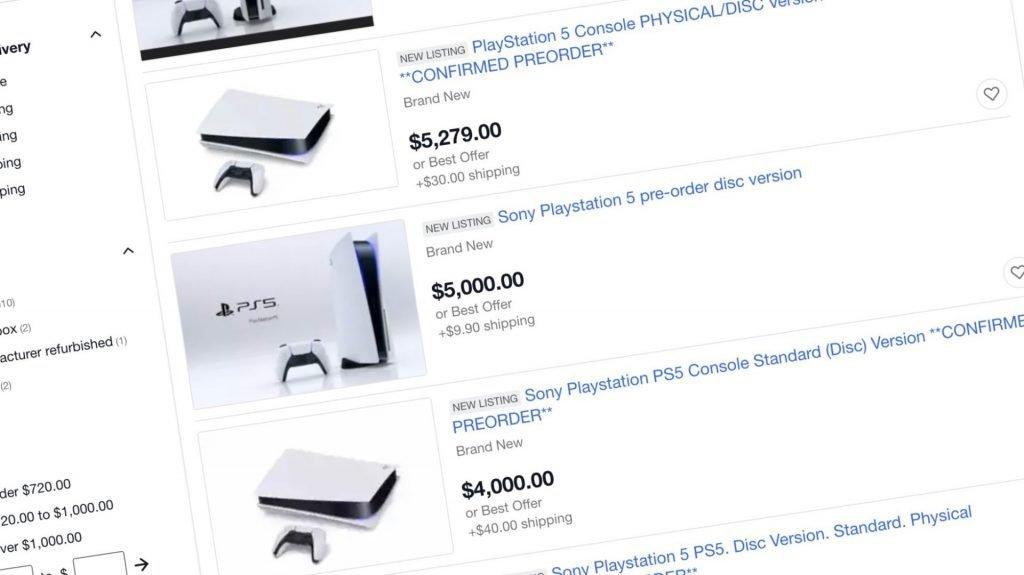 Revendedores en Ebay.