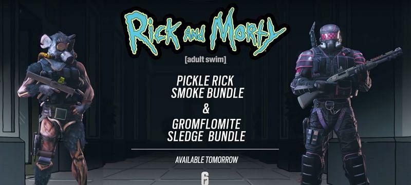 Skins de Rick y Morty.