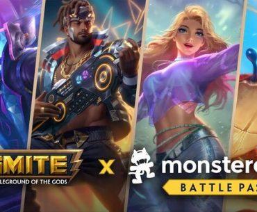 Portadas de Smite Monstercat.