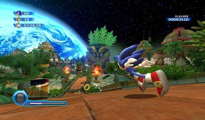 Jugabilidad de Sonic Colors.