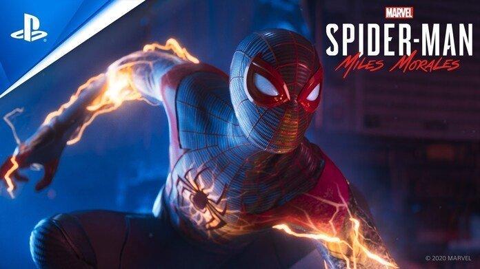 Arte de Spider-Man: MIles Morales.