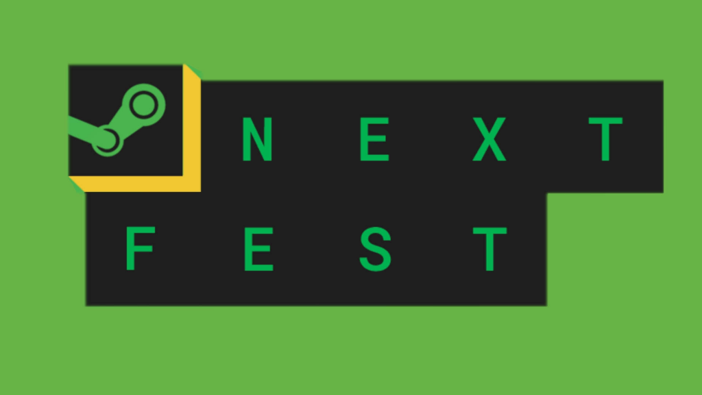 Logo de Steam Next Fest.