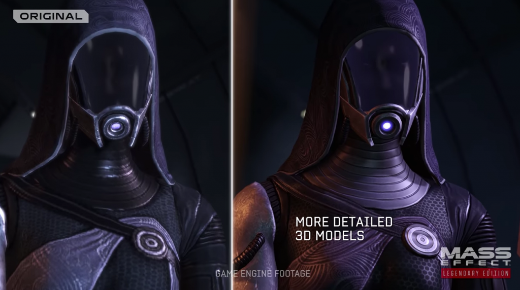 Comparativa entre distintas versiondes de Mass Effect: