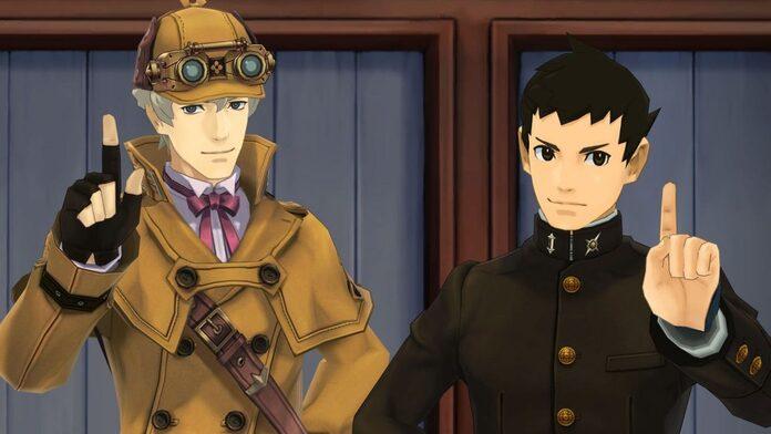 Herlock Sholmes y Ryunosuke Naruhodo.