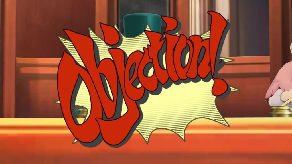 "Pantalla de ""objeción""."