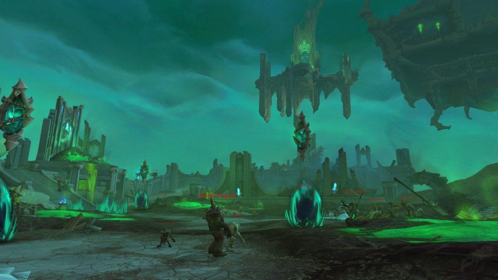 Mazmorra de Shadowlands.