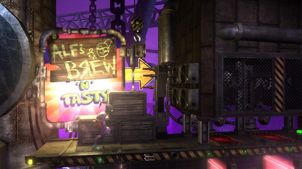 Oddworld: New n' Tasty.