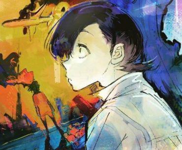 Ilustración del manga 'Choujin X' con el protagonista de perfil.