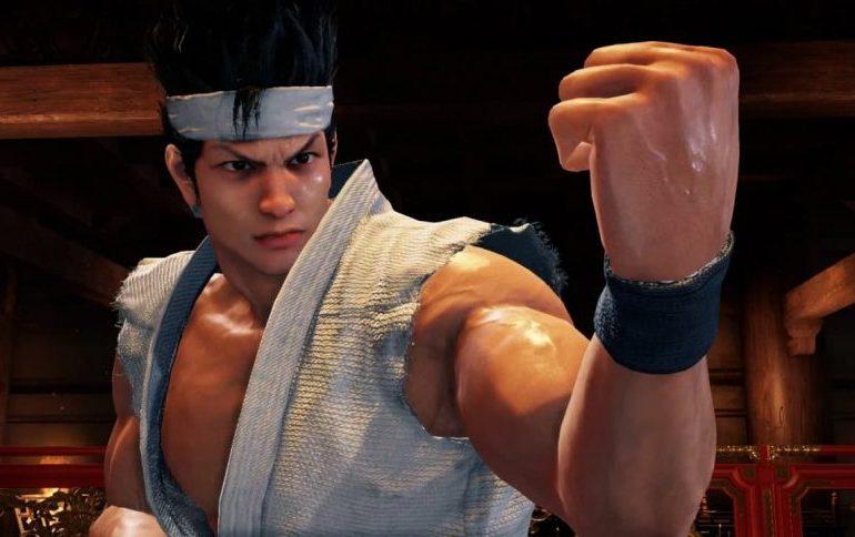 Captura de pantalla de Virtua Fighter 5, con su protagonista Akira Yuki