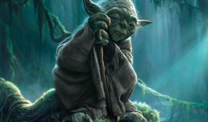 Yoda maestro en Star Wars