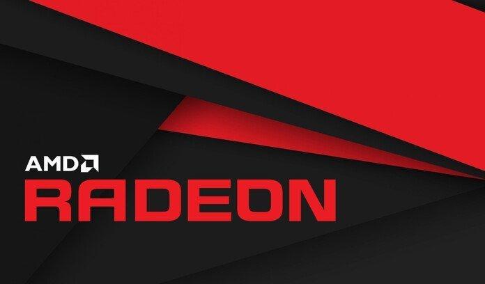 Logo de AMD Radeon.